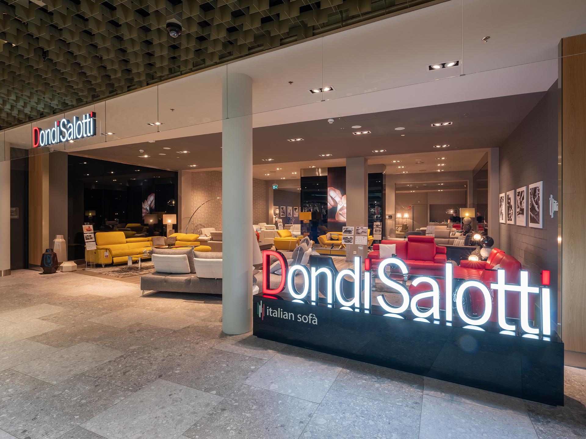 G4s e dondi salotti continua la collaborazione per l for Poltrone e sofa punti vendita